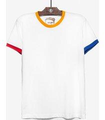 t-shirt hermoso compadre casual branco