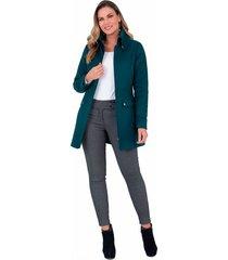 abrigo xuss 50653 verde
