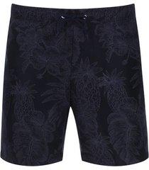 pantalóneta de baño aloha color azul, talla m