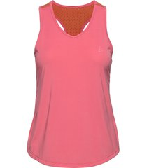 adv charge perforated singlet w t-shirts & tops sleeveless rosa craft
