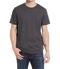 men's ag bryce crewneck t-shirt, size large - grey
