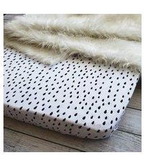 lençol com elástico para berço +  fronha chuva