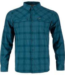 camisa geo long azul noche lippi