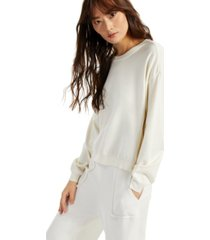 alfani petite modern lounge side-zippered sweater, created for macy's