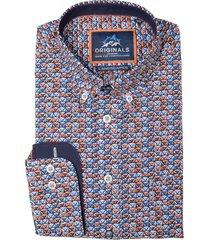 gcm overhemd met print regular fit 5314/445