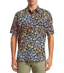 collection cotton hawaiian shirt
