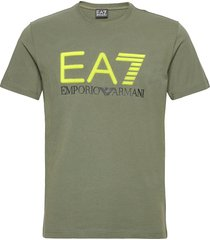 t-shirt t-shirts short-sleeved grön ea7