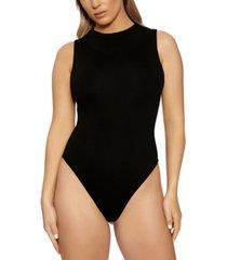 naked wardrobe the nw sleeveless bodysuit