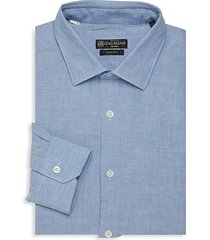 slim-fit long-sleeve dress shirt