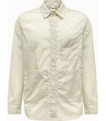 aspesi camicia in nylon beige