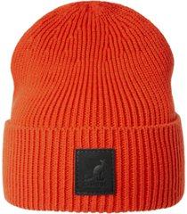 kangol men's patch beanie