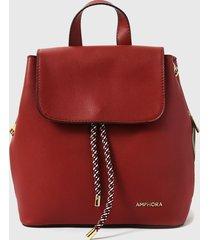 mochila dunya rojo amphora