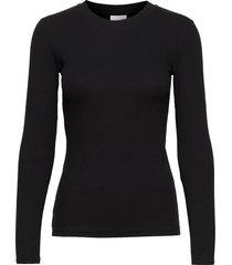 2nd pale t-shirts & tops long-sleeved zwart 2ndday