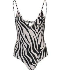 amaro feminino maio decote v amarração, zebra