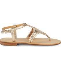 maci leather thong sandals