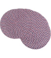 americana braided placemat set of 6