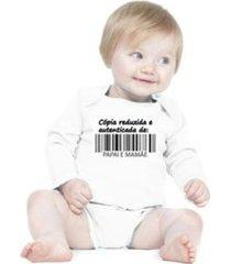 body bebê frases engraçadas e divertidas cópia de papai e mamãe manga longa criativa urbana