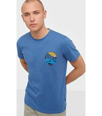 solid jarvis ss t-shirt t-shirts & linnen blue