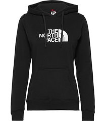 w drew peak pull hd hoodie trui zwart the north face