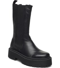 biadeb long boot shoes boots ankle boots ankle boot - flat svart bianco