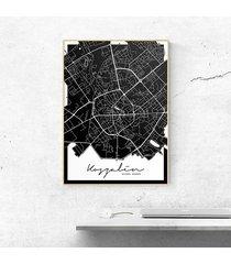 plakat koszalin mapa