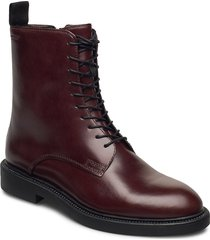 alex w shoes boots ankle boots ankle boot - flat brun vagabond
