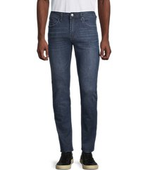 buffalo david bitton men's super max-x skinny jeans - indigo - size 42 32