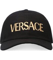 versace logo embroidery baseball cap