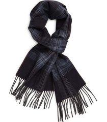 women's canali plaid silk & cashmere scarf