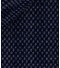 pantaloni da uomo su misura, loro piana, natural stretch blu occhio di pernice, quattro stagioni | lanieri