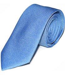 gravata azul clara slim 4025 - azul - masculino - dafiti