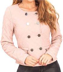 chaqueta cynthia rosa para mujer croydon