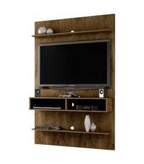 painel vega madeira rústica móveis bechara marrom