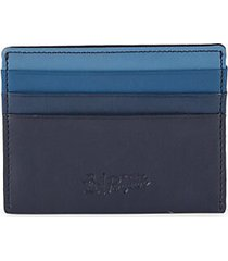 ombre leather card case