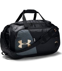 maletin under armour duffel 4.0 medium - negro/gris