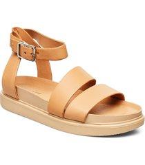 erin shoes summer shoes flat sandals beige vagabond