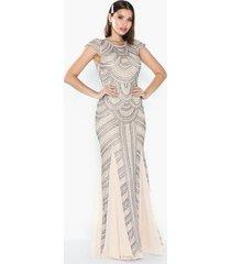 maya all over embellished maxi dress maxiklänningar