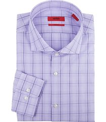 meli sharp-fit check dress shirt