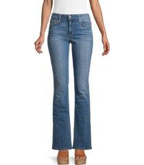 joe's jeans women's mid-rise bootcut jeans - blue - size 25 (2)