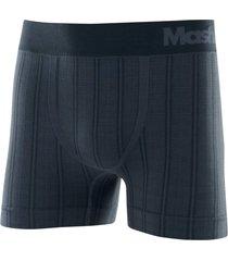 cueca mash boxer microfibra sem costura listrada chumbo - multicolorido - dafiti