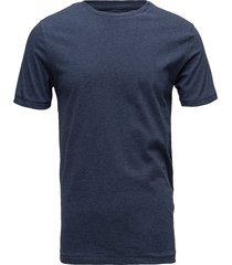alder basic tee - gots/vegan t-shirts short-sleeved blå knowledge cotton apparel