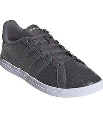 zapatilla negra adidas courtpoint