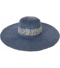 sombrero africa azul humana
