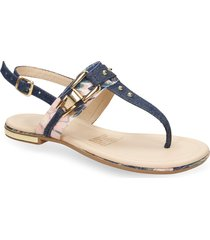 sandalias azul bata xide r mujer