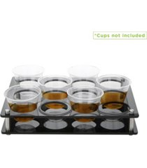 mind reader 12 rectangle slot cup holder tray
