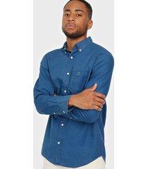 gant d1. indigo royal oxford reg bd skjortor indigo