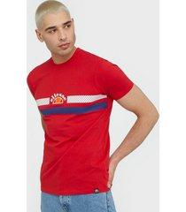 ellesse el lori tee t-shirts & linnen red