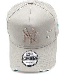 boné new era new york yankees mlb off-white