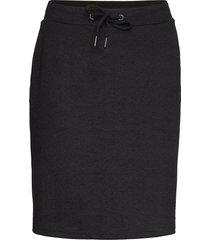 sc-kammy knälång kjol svart soyaconcept