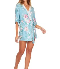 flora nikrooz collections womens antonia printed knit robe